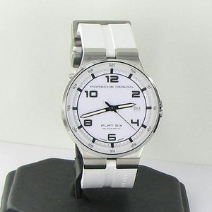 Porsche Design P6351 Flat Six Auto Steel Mens White Watch 6351.41.64.1256