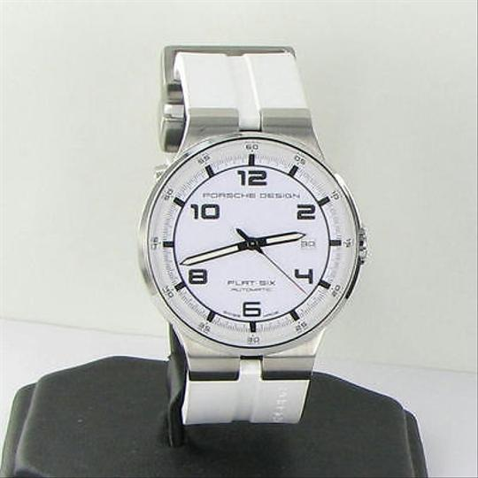 Preload https://item3.tradesy.com/images/other-porsche-design-p6351-flat-six-auto-steel-mens-white-watch-635141641256-2927452-0-0.jpg?width=440&height=440
