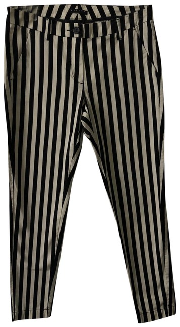 Item - Vertical Striped Trousers Pants Size 4 (S, 27)
