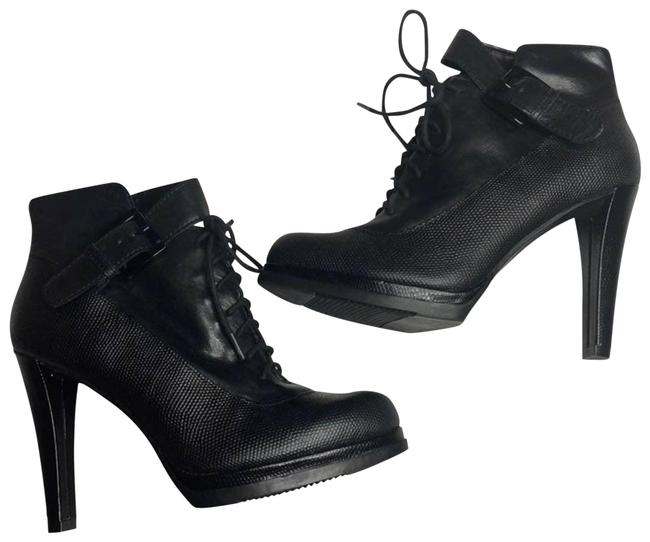 Item - Black Ave Leather Boots/Booties Size US 6.5 Regular (M, B)