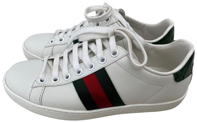 Item - White Ace Sneakers Size EU 34 (Approx. US 4) Regular (M, B)