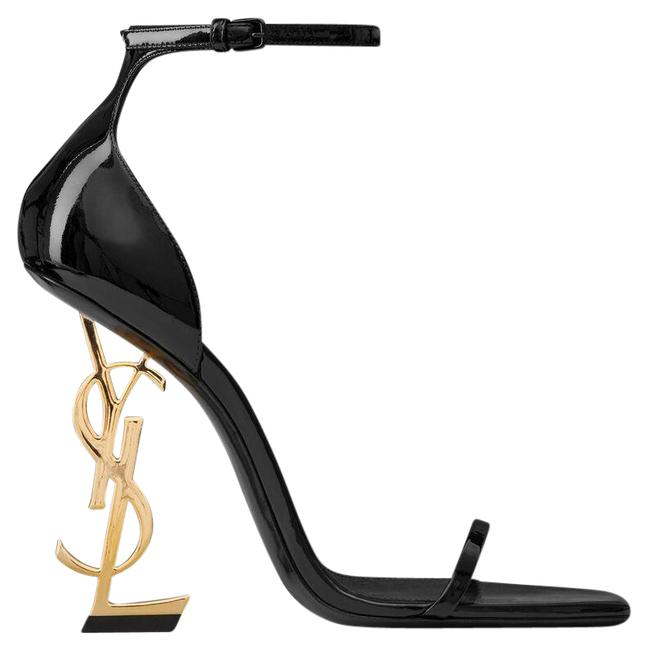 Item - Black and Gold Opyum 110 Ysl Heels S Formal Shoes Size EU 37 (Approx. US 7) Regular (M, B)