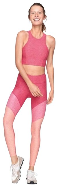Item - Pink 7/8 Spring Tricolor Small Activewear Bottoms Size 4 (S, 27)