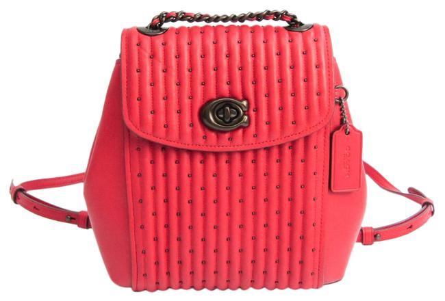 Item - Parker Convertible 76362 Women's Red Color Leather Backpack