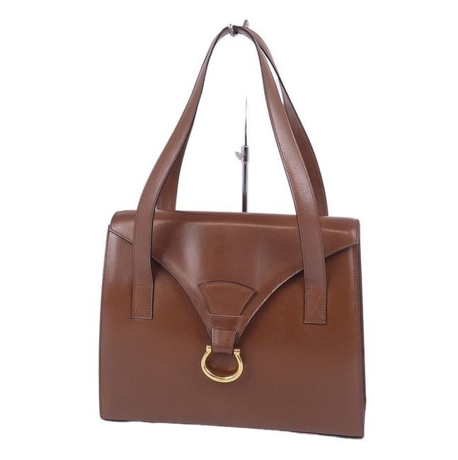 Item - Women's Smooth Calf Brown Leather Tote