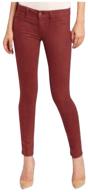 Item - Red Emma Leggings Flame Skinny Jeans Size 26 (2, XS)