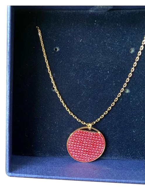Item - Pink and Rose Gold Necklace