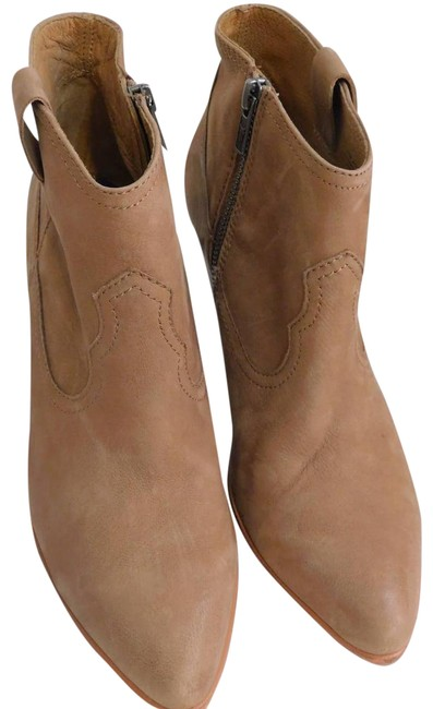 Item - Brown Reina Suede Ankle Boots/Booties Size US 8.5 Regular (M, B)