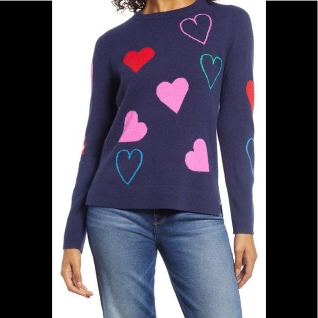 Item - Heart Cashmere Navy Sweater