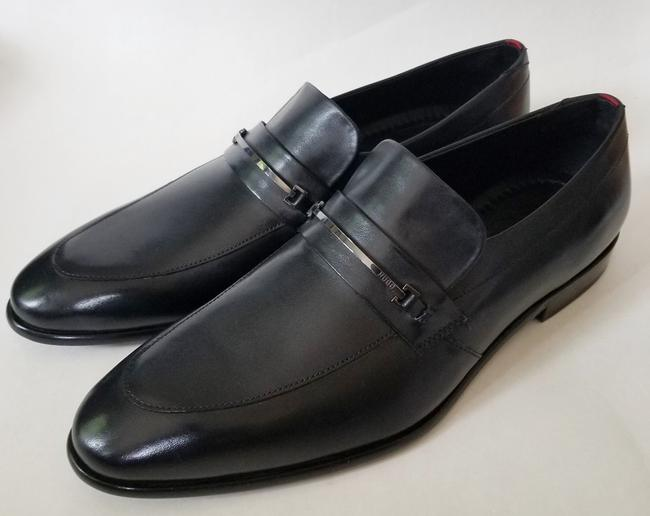 Item - Black By Leather Loafers Dressy Shoes
