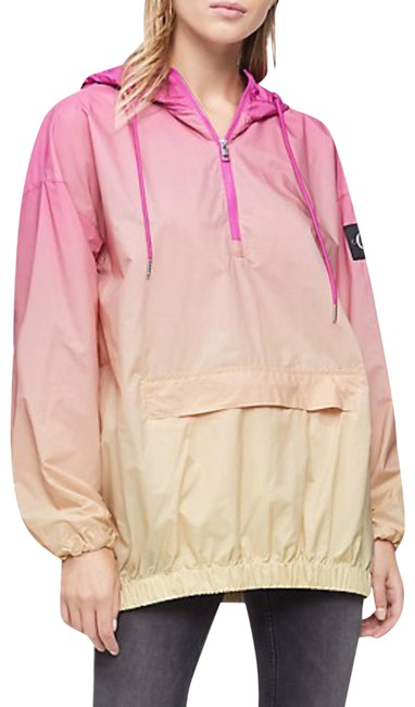 Item - Pink Ombre XS Anorak 1/4 Zip Pullover Jacket Size 2 (XS)