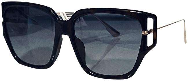 Item - Black & Gold New (Direction 3 F) Elegant Oversized Made In Italy Sunglasses