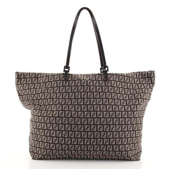 Item - Belted Zucchino Large Brown Canvas Tote