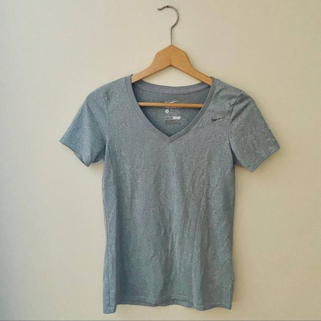Item - Gray Sleeve Dri-fit Athletic T-shirt Activewear Top Size 4 (S)