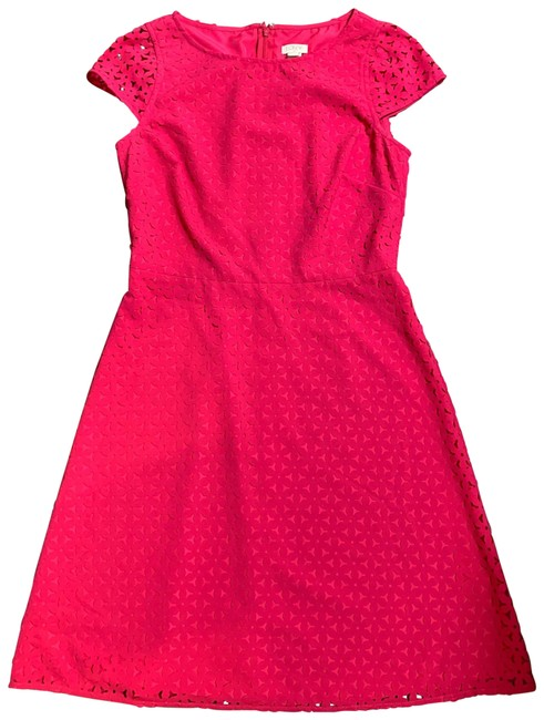 Item - Pink E8400 Mid-length Cocktail Dress Size 4 (S)