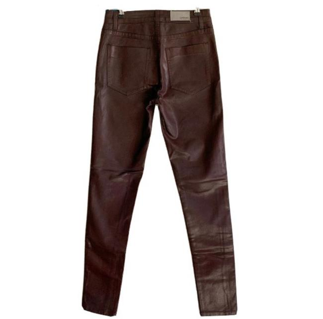 Item - Brown Coated Robin Skinny Jeans Size 2 (XS, 26)