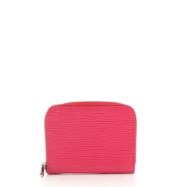 Item - Pink Zippy Coin Purse Epi Leather Wallet