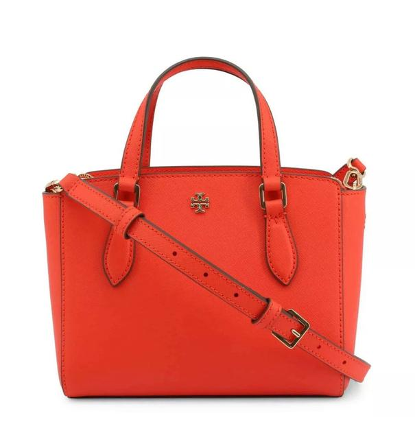 Item - Emerson Mini Top Zip Red Leather Cross Body Bag