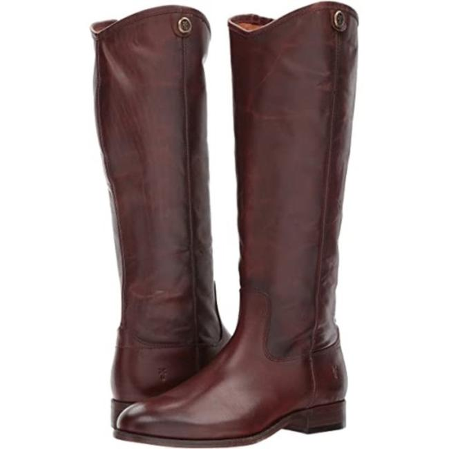 Item - Red New Melissa Button 2 In Redwood Boots/Booties Size US 7.5 Regular (M, B)