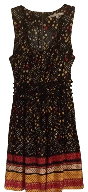 Rachel Roy short dress Black Yellow Red on Tradesy