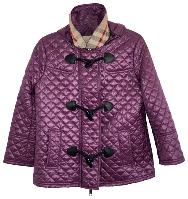 Item - Purple Light Quilted with Hood Activewear Outerwear Size 2 (XS)