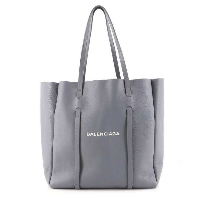 Item - Everyday Small Gray Leather Tote