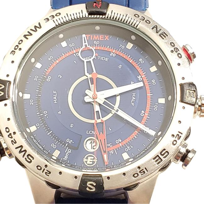 Item - Blue Expedition Indiglo Date Tide Temp Compass Men's Watch