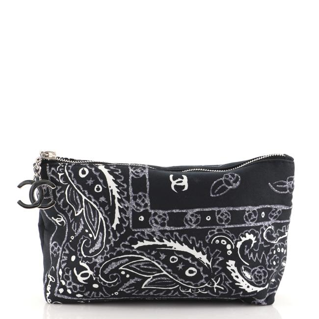 Item - Pouch Bandana Printed Canvas Small Cosmetic Bag