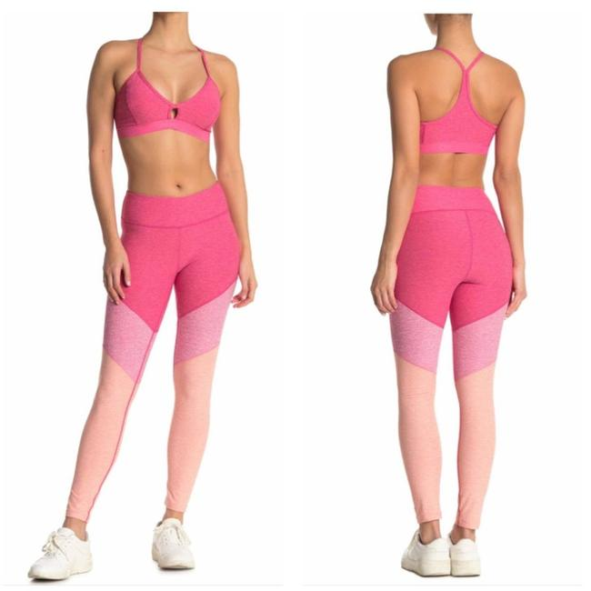 Item - Pink Paneled Colorblock Activewear Bottoms Size 4 (S, 27)