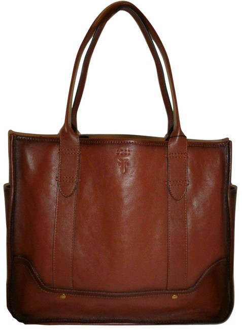 Item - Madison Shopper Large (New with Tags) Cognac Brown Leather Tote