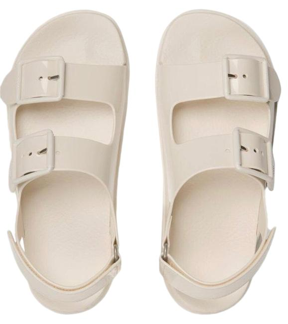 Item - White Women's with Mini Double G Sandals Size US 5 Regular (M, B)