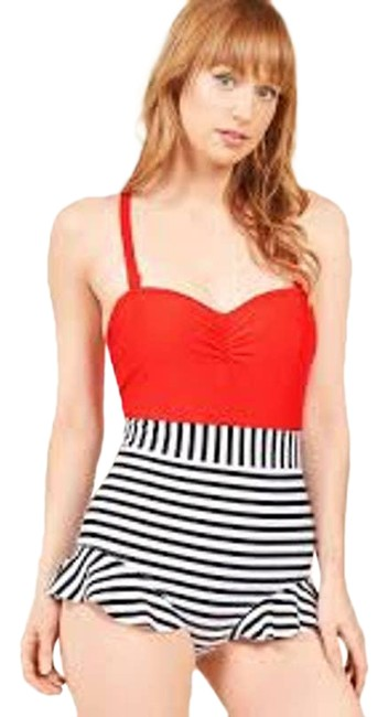 Item - Red Haute In The Hamptons Swimsuit One-piece Bathing Suit Size 2 (XS)