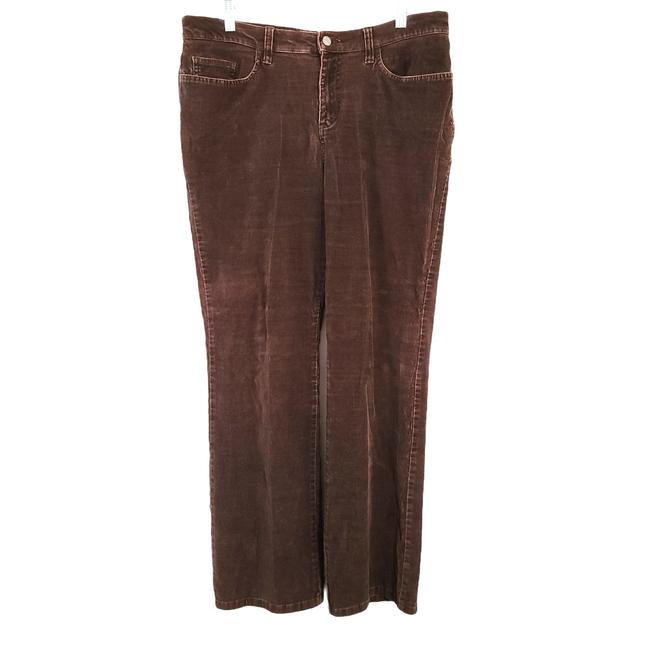 Item - Brown Womens Corduroy Solid Thick Average 1260 Pants Size 14 (L, 34)