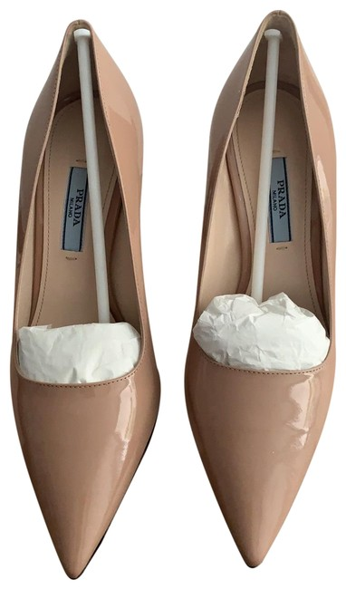 Item - Nude Patent Leather Vernice Basic Boots/Booties Size EU 36.5 (Approx. US 6.5) Regular (M, B)