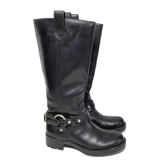Item - Silver Black Harness Riding Boots/Booties Size US 6.5 Regular (M, B)