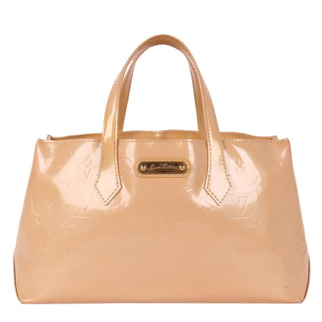 Item - Wilshire 9617d Beige Patent Leather Tote