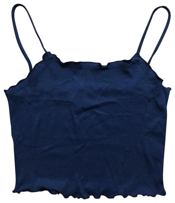Item - Blue Knit Riot Vs Featured Brand Tank Top/Cami Size 4 (S)