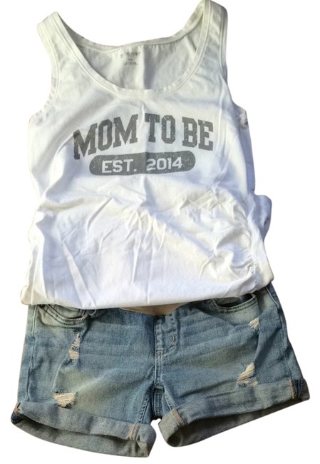 Preload https://item5.tradesy.com/images/a-pea-in-the-pod-a-pea-in-the-pod-distressed-jean-short-2928874-0-0.jpg?width=400&height=650