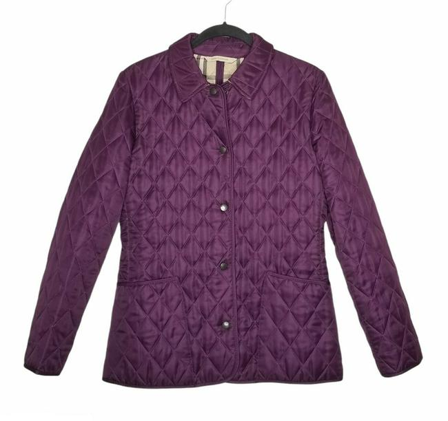 Item - Purple Quilted Jacket Size 2 (XS)