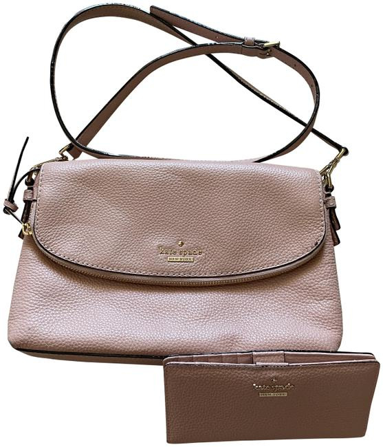 Item - Wallet Pink Leather Cross Body Bag