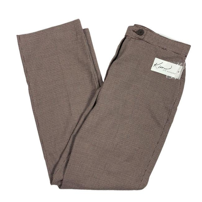 Item - Brown 8p Houndstooth Pants Size 8 (M, 29, 30)
