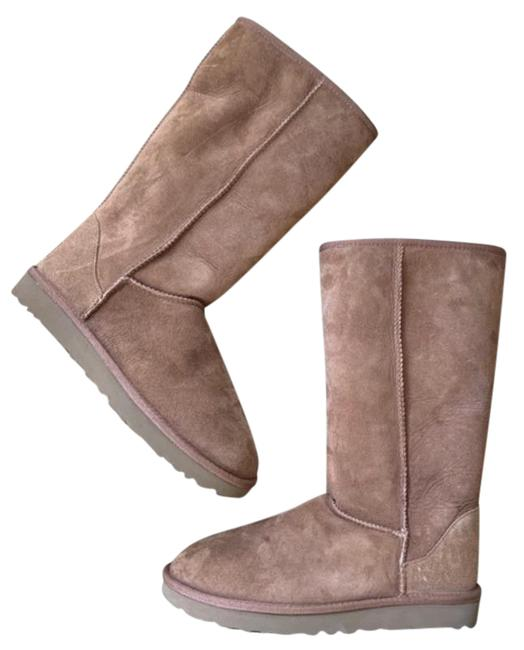 Item - Brown Tall Ii Camel Suede Boots/Booties Size US 10 Regular (M, B)