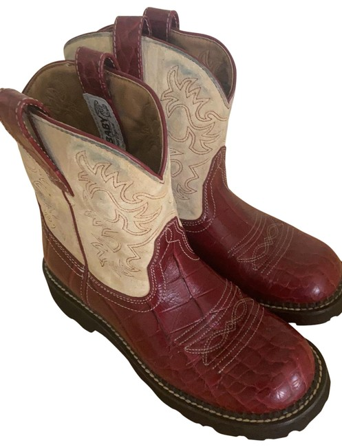 Item - Red Fat Baby Boots/Booties Size US 8 Regular (M, B)