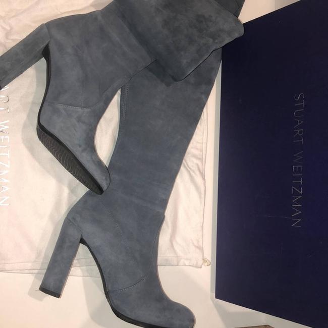Item - Blue Women's Hiline Over The Knee Boots/Booties Size EU 38 (Approx. US 8) Regular (M, B)