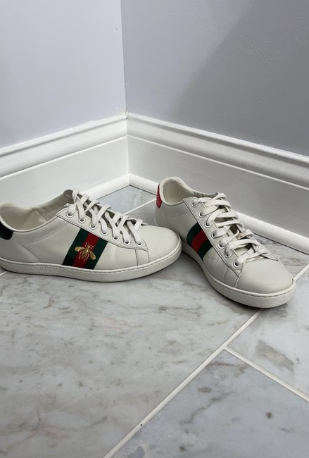 Item - White New Ace Sneakers Size EU 38 (Approx. US 8) Regular (M, B)