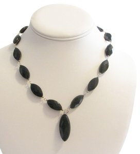 Colleen Lopez Colleen Lopez Genuine Black Onyx Necklace