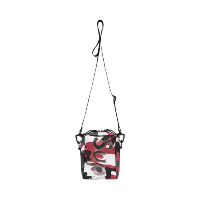 Item - Ss2021 Limited Edition Red Camo Cross Body Bag