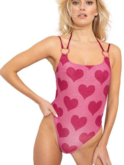 Item - Pink Elspeth Swimsuit One-piece Bathing Suit Size 8 (M)