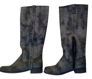 Mia Shoes Gray Boots