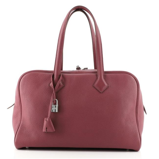 Item - Victoria Ii Clemence 35 Pink Leather Tote